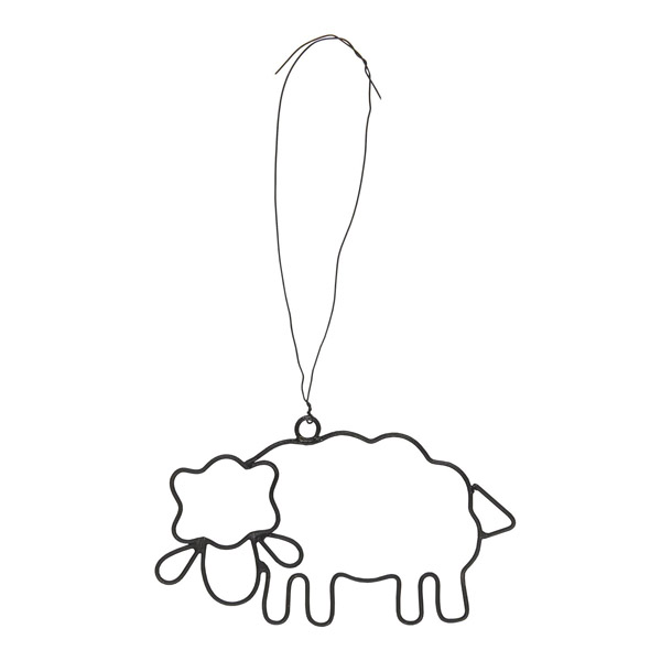 WIRE SHEEP DECORATION