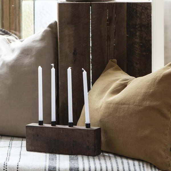 BLOCK FOUR CANDLE HOLDER {was £24}