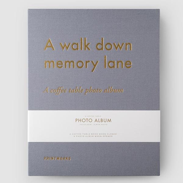 A WALK DOWN MEMORY LANE PHOTO ALBUM