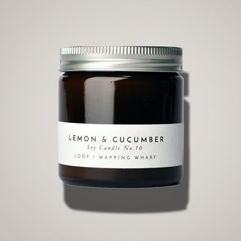 LEMON AND CUCUMBER SMALL CANDLE