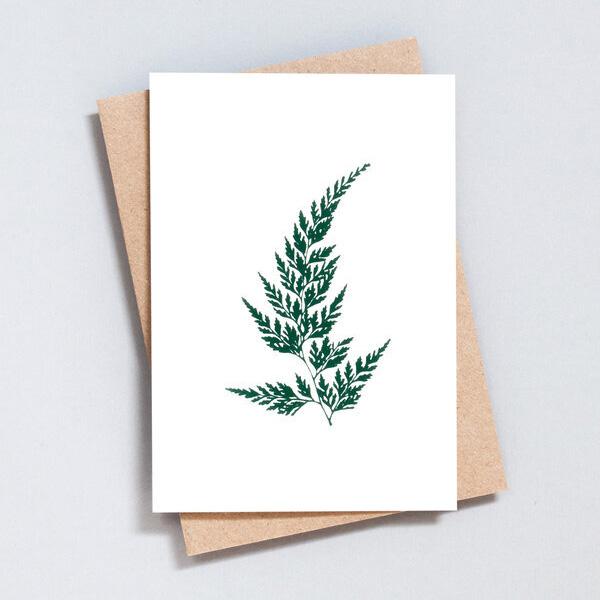 FERN GREETINGS CARD