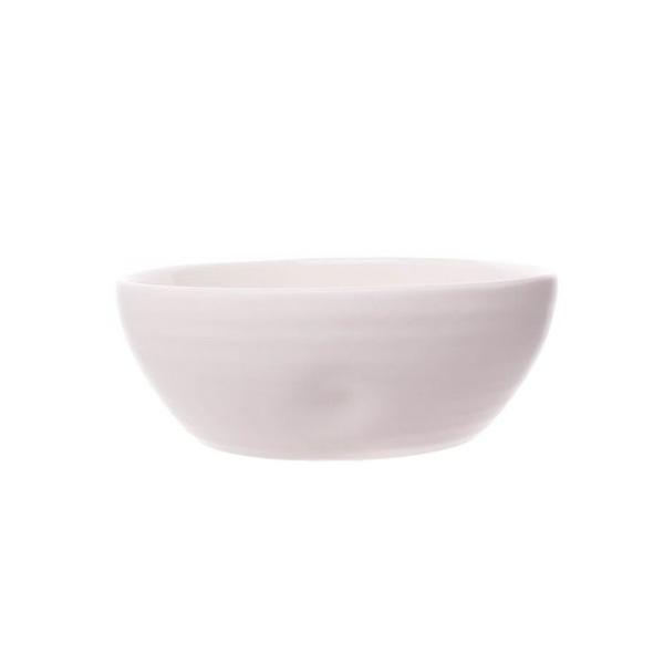 PINCH SALAD BOWL WHITE INNER