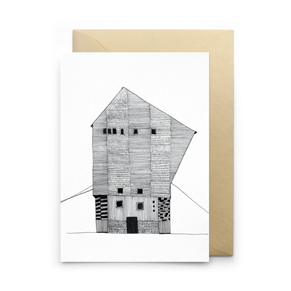 MONOCHROME DESIGN GREETINGS CARD