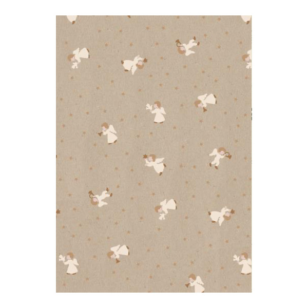 ANGEL PRINT 5MT WRAPPING PAPER ROLL