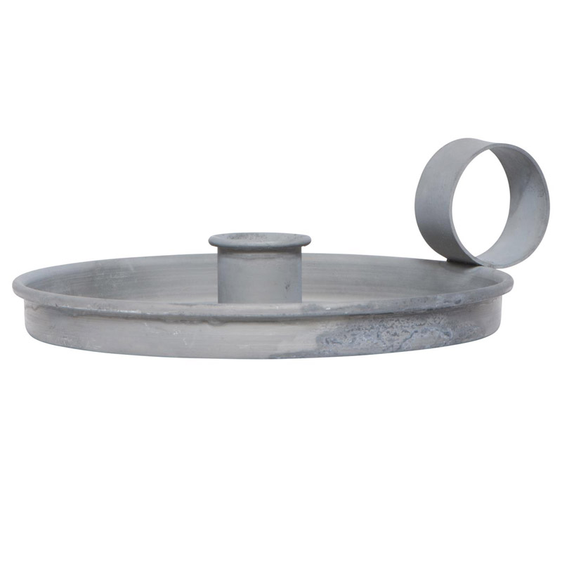METAL CANDLE HOLDER FOR DINNER CANDLES