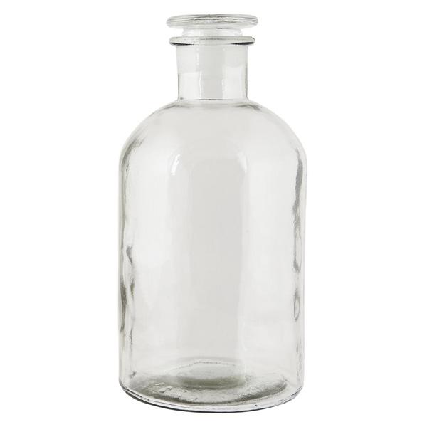 PHARMACY GLASS BOTTLE 1 LTR DESIGN 2