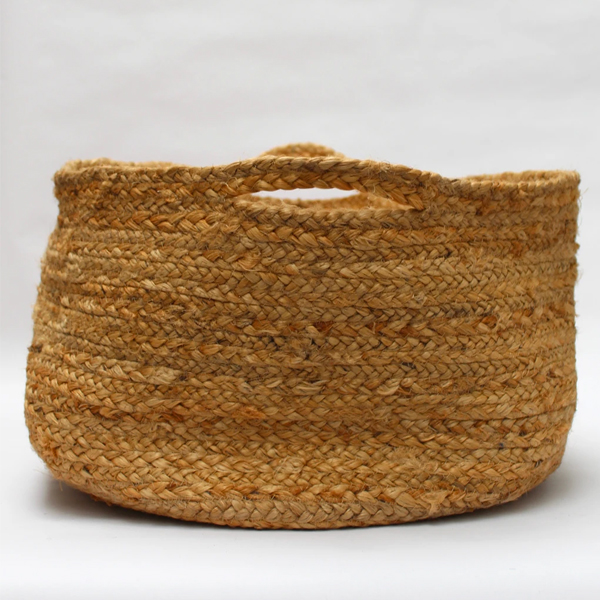 EXTRA LARGE WOVEN FLOOR BASKET