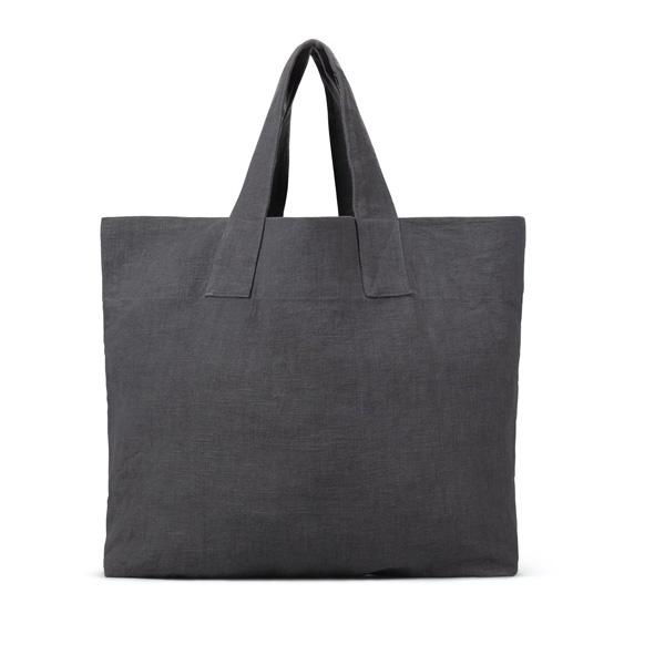 CHALK CHARCOAL COTTON BAG