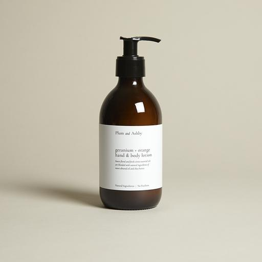 GERANIUM & ORANGE HAND AND BODY LOTION