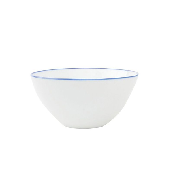 ABESSES BOWL BLUE RIM SMALL