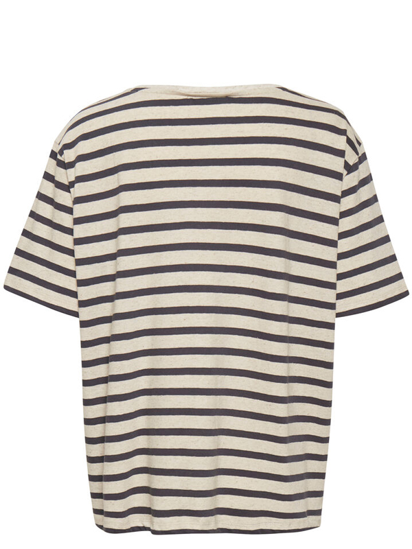 LOUNGE NINE KYA T-SHIRT TOP STRIPED