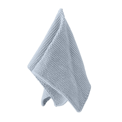 DOVE BLUE DISH/ FACE CLOTHS SET OF 3