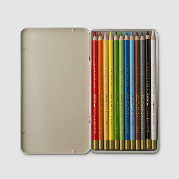 SET OF 12 COLOURING PENCILS {was £12}