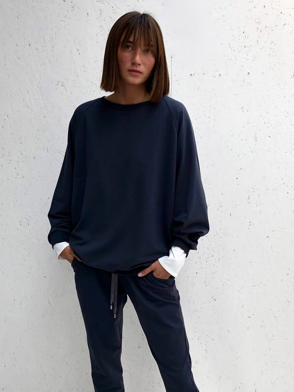 CHALK NANCY CHARCOAL SWEATSHIRT JUMPER