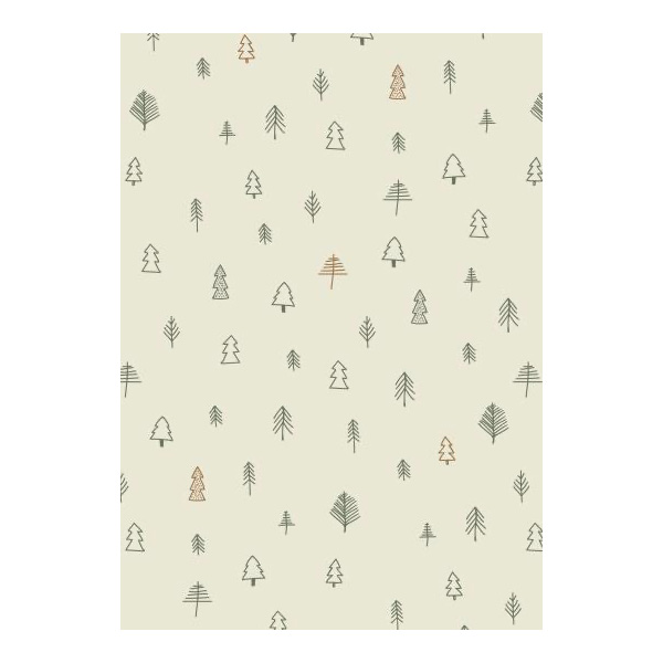 SKANDI TREE 5MT WRAPPING PAPER ROLL