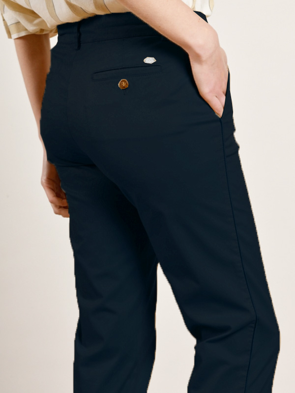 MAT DE MISAINE PALCAN TROUSERS WITH PIPING DETAIL {was £108}
