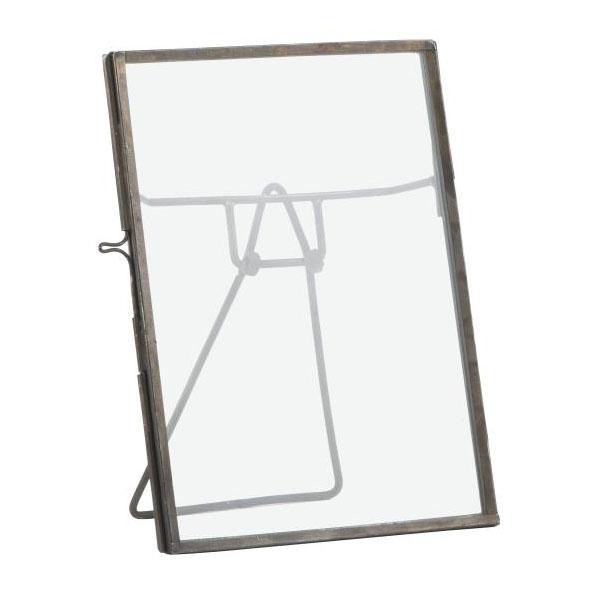 GLASS & METAL FRAME DISPLAY