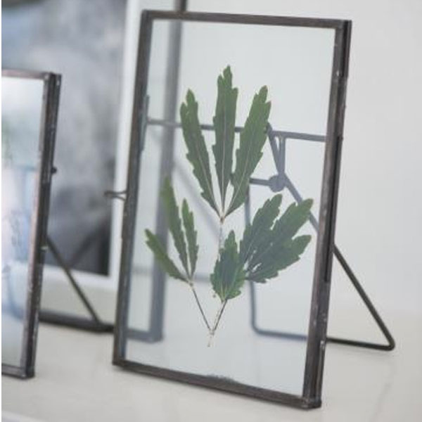 GLASS & METAL FRAME DISPLAY