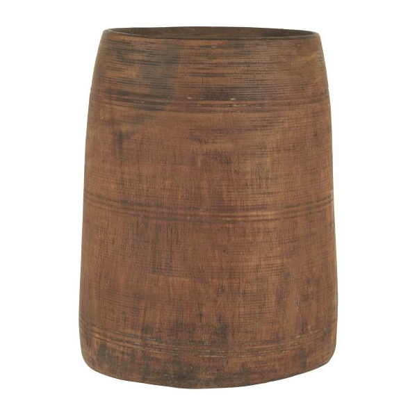 HIMALAYA WOODEN POT RECLAIMED