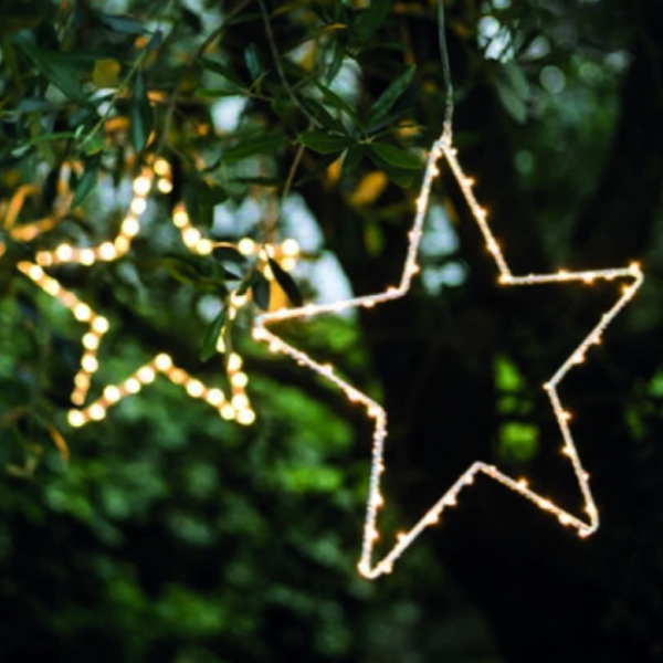 LED STAR DECORATIONS two sizes available