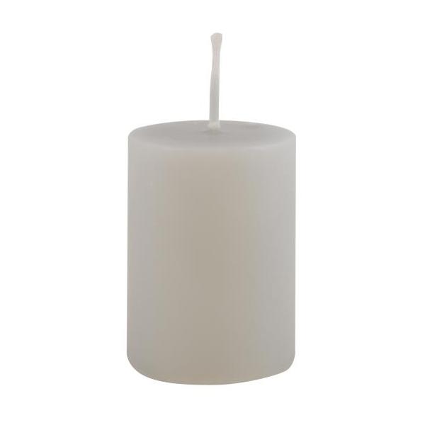 WARM WHITE PILLAR CANDLE