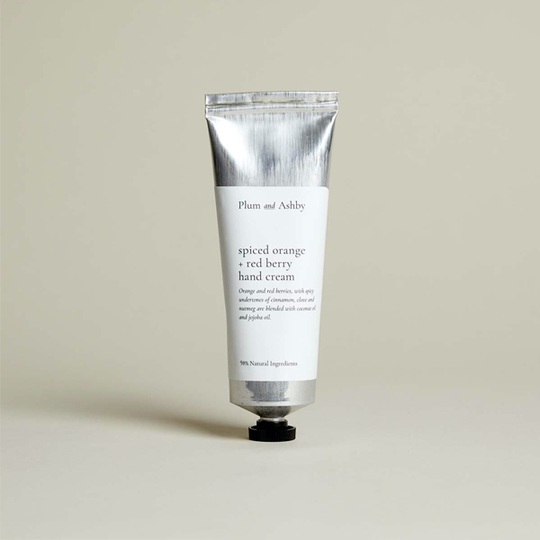 SPICED ORANGE AND RED BERRY HAND CREAM