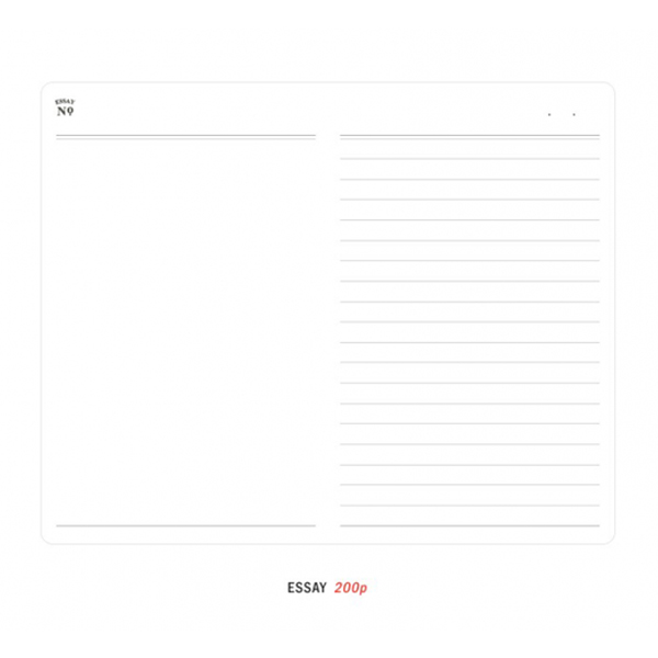 ICONIC ESSAY BOOK A6 NOTEBOOK POCKET SIZE PALE BLUE