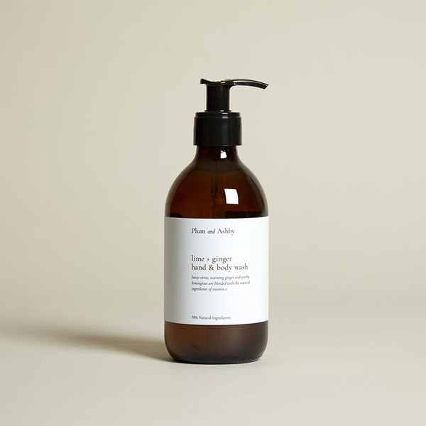 LIME AND GINGER HAND AND BODY WASH