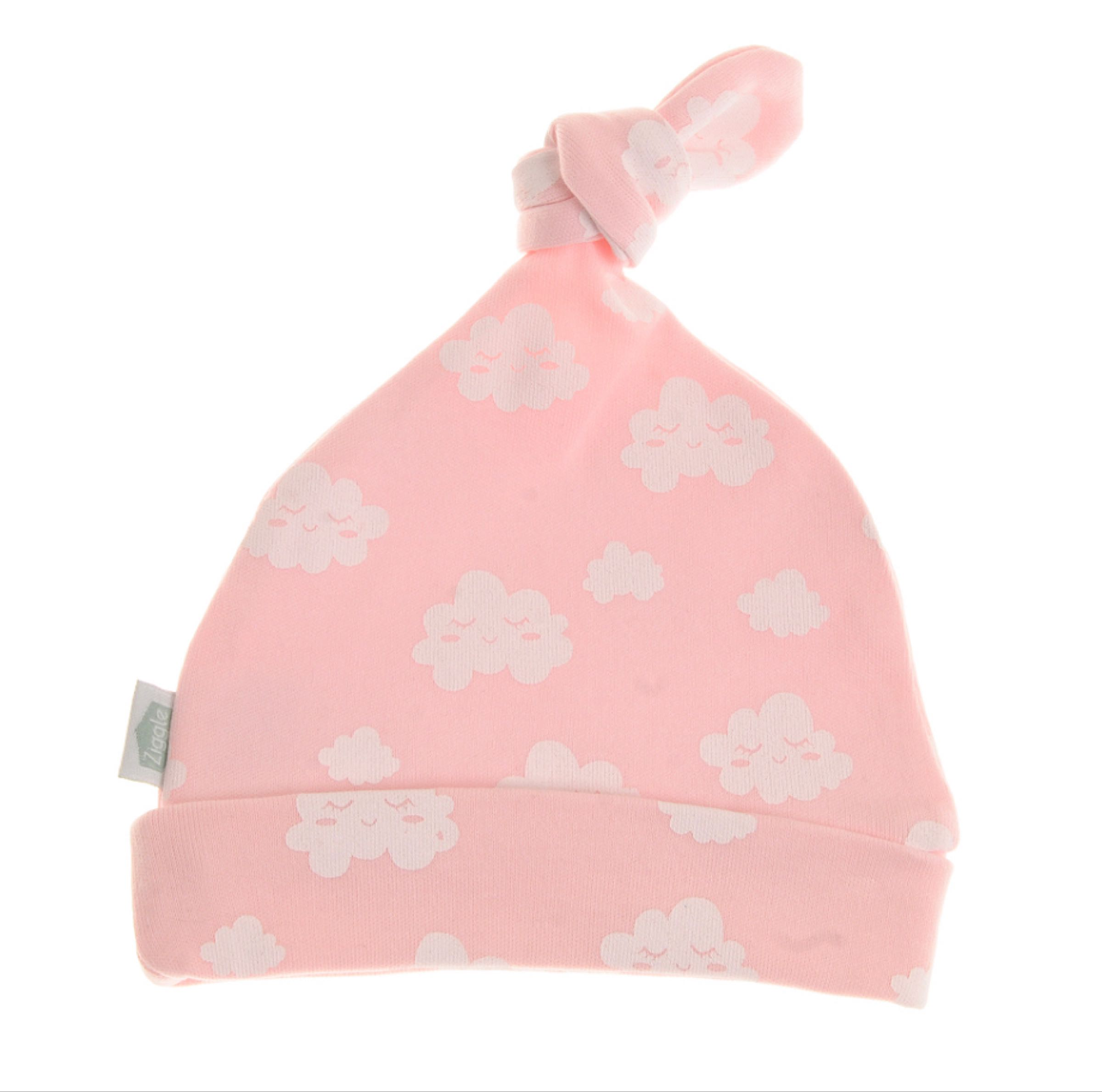 Ziggle Pink With Winking Clouds Hat
