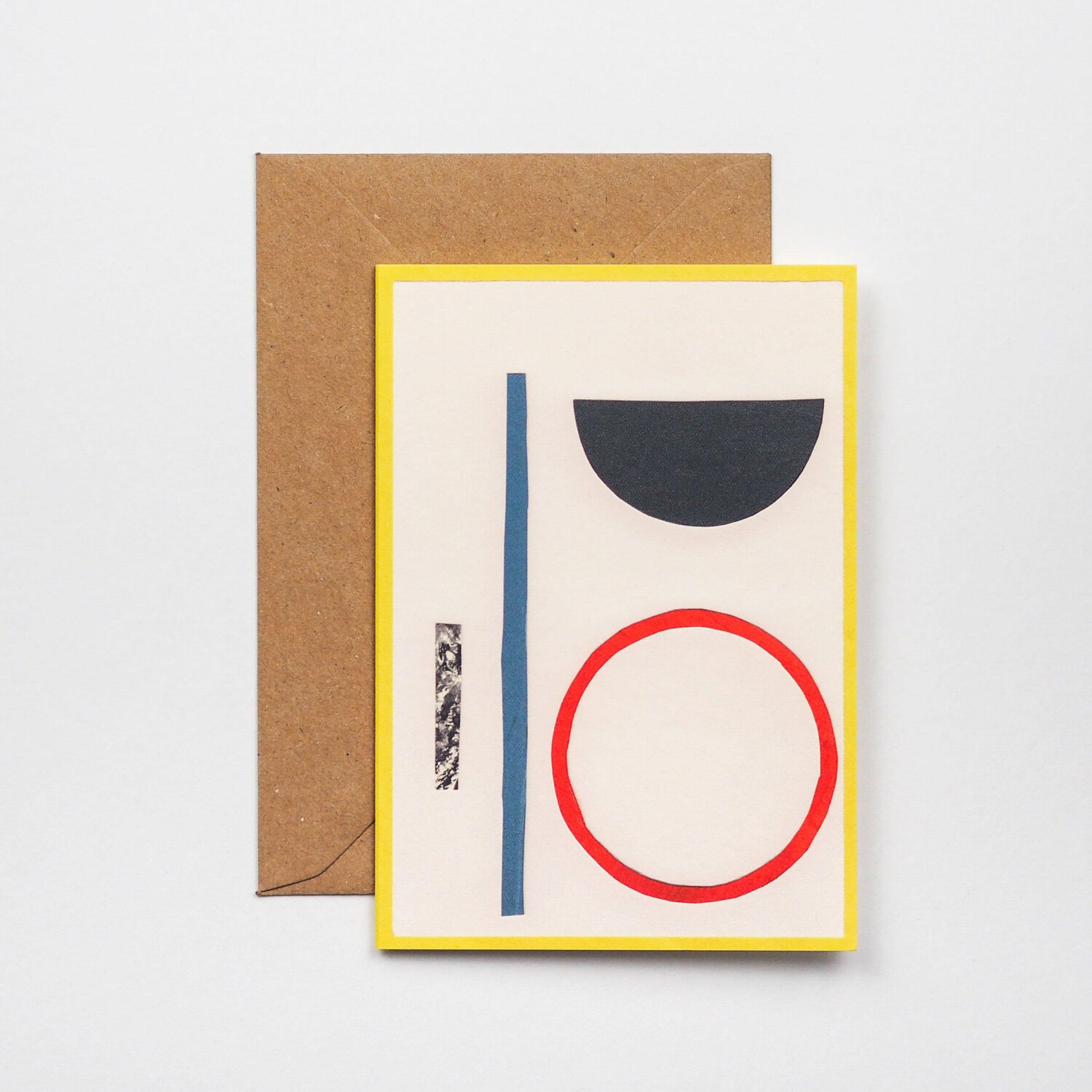 Johnston Hoop card by Hadley Paper Goods