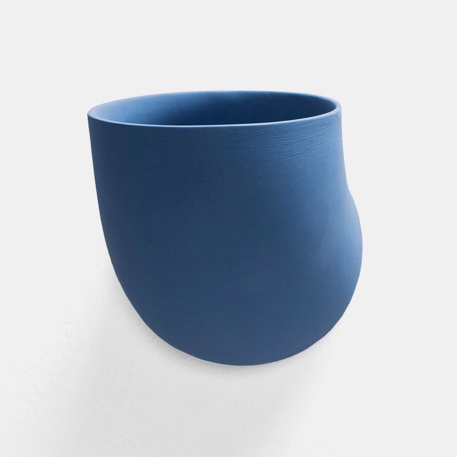 Valerie Objects Duct Wall Holder, Cobalt blue