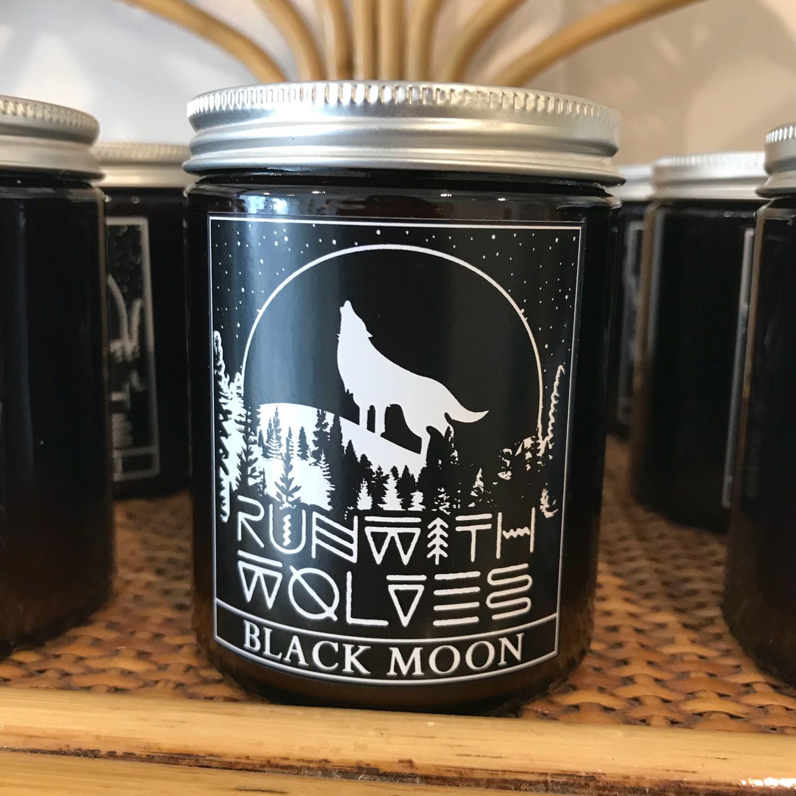Black Moon Soy Wax Candle