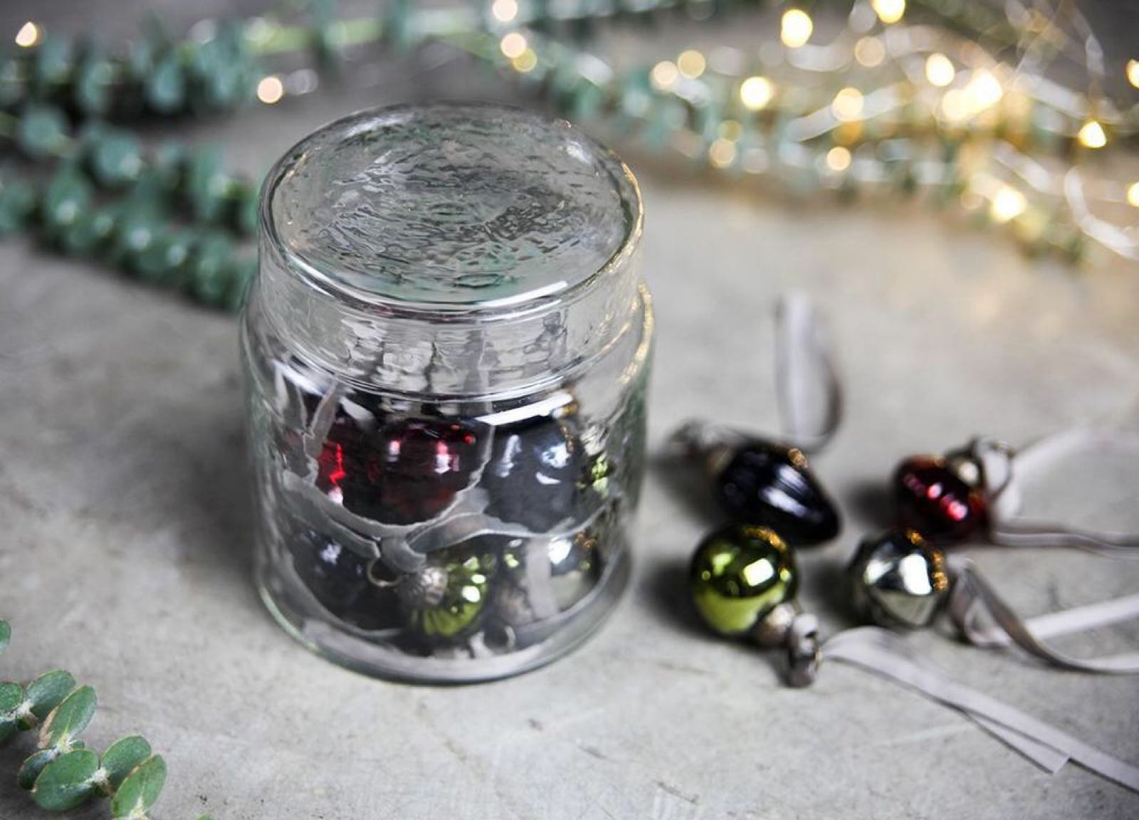 Adisa Bauble Jar - Mixed Colours