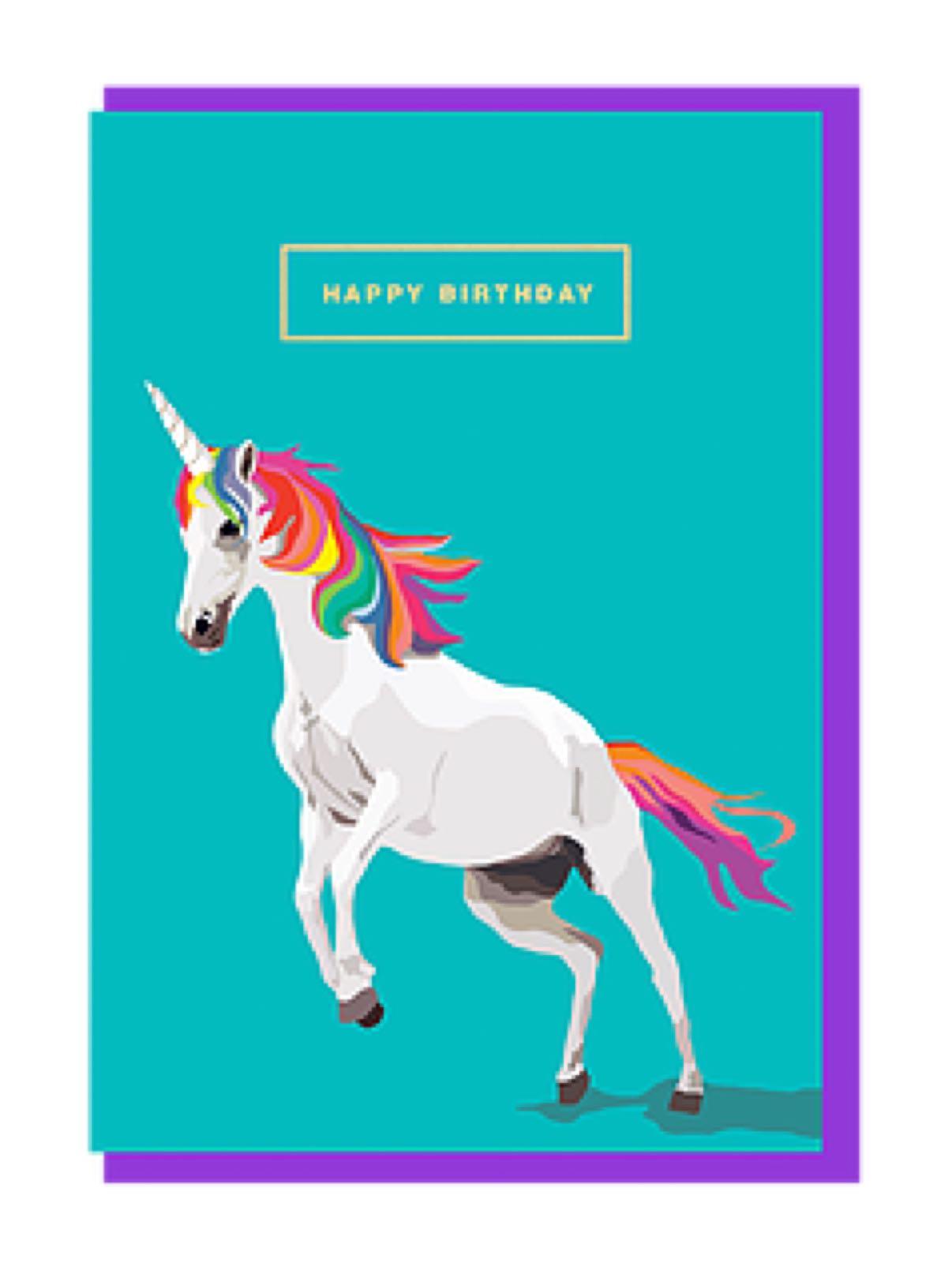 Emily brooks unicorn card