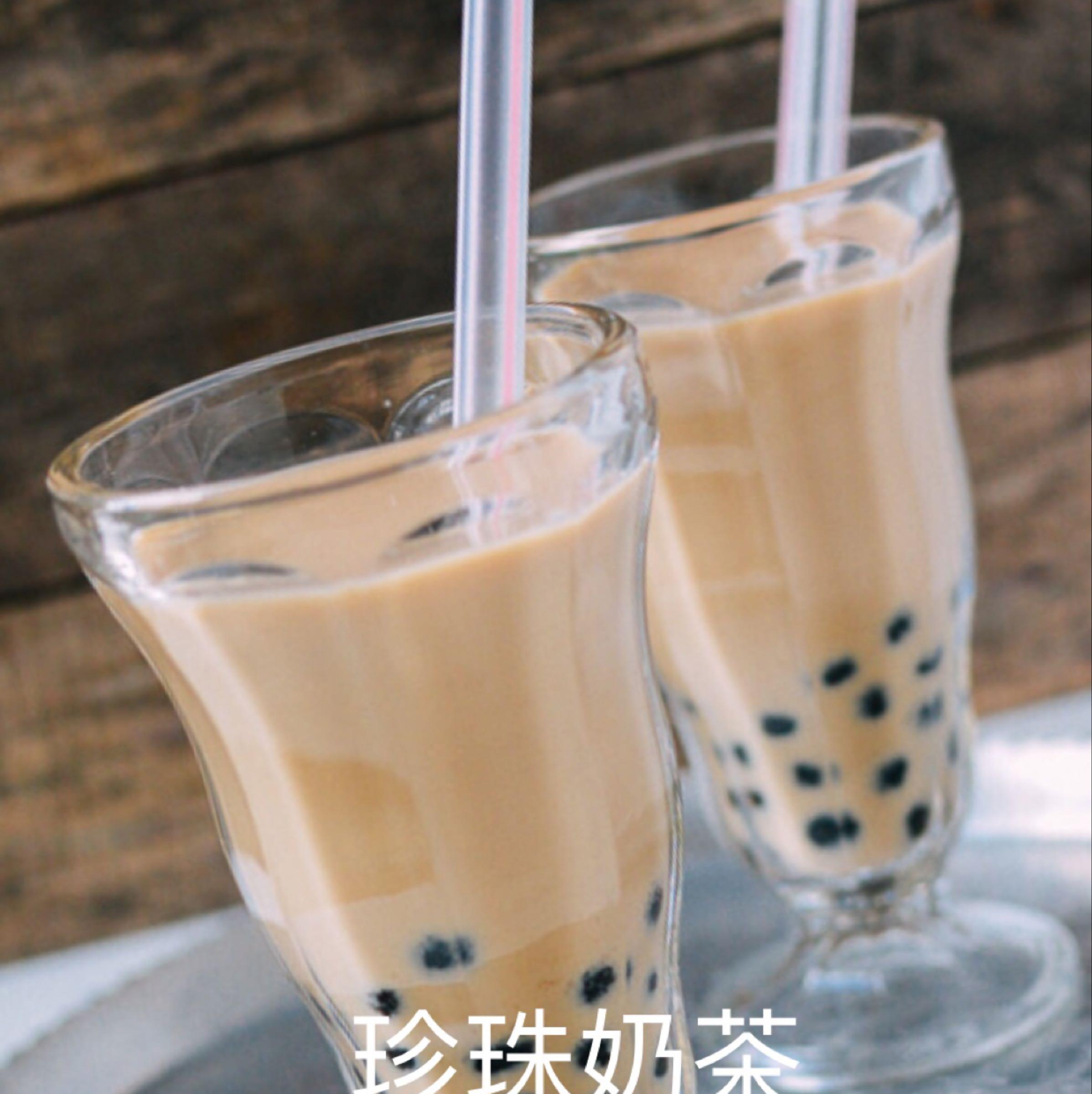 凍珍珠奶茶 Iced Milk Bubble Tea