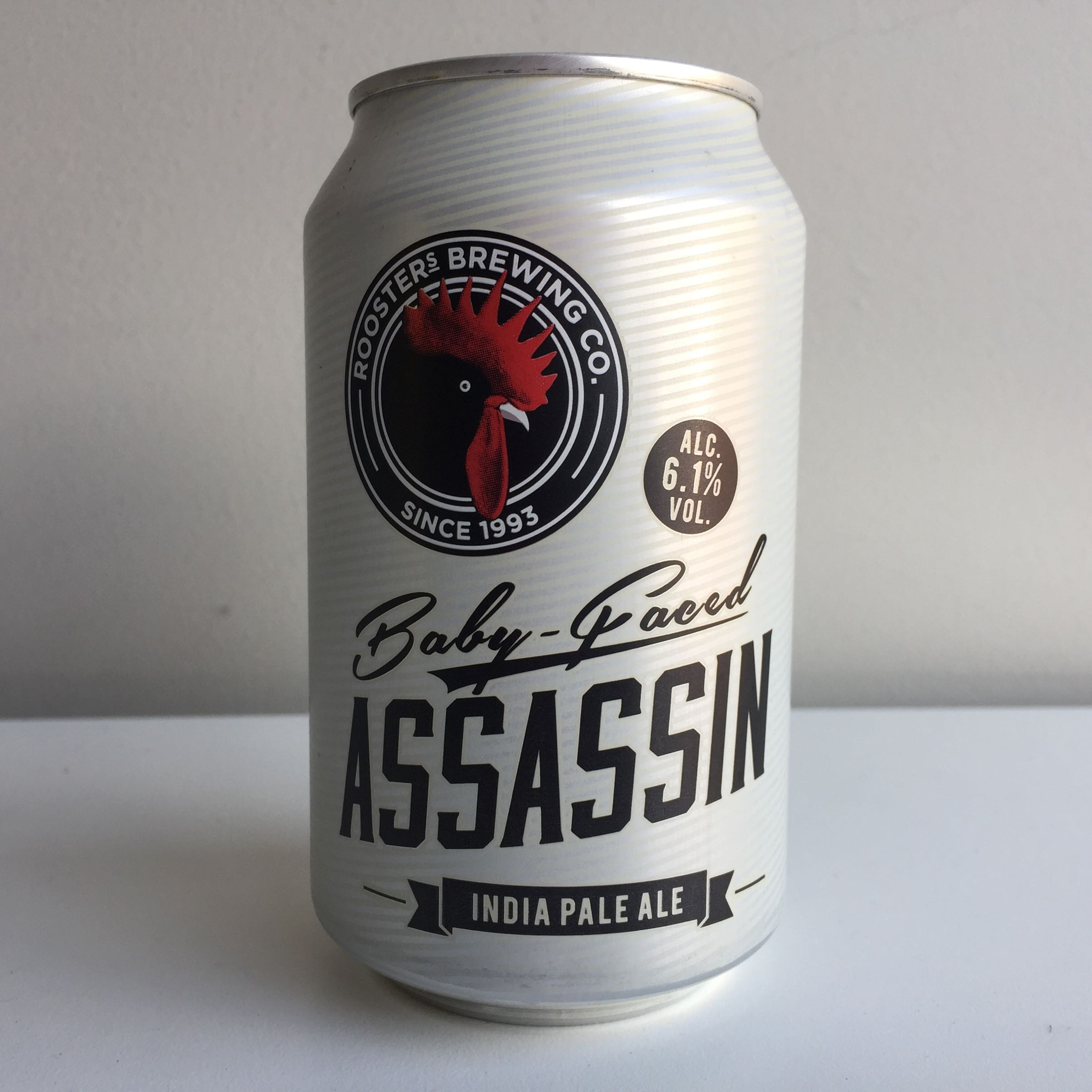 Roosters brewing Co. 'Baby Faced Assassin' IPA 330ml 6.1% ABV