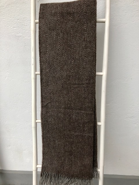 Uldplaid 140 x 240 cm