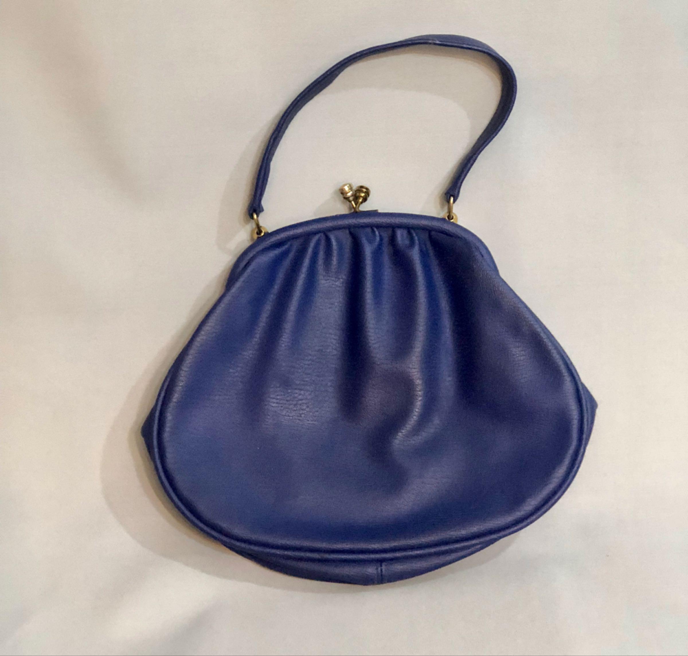 Colbalt handbag