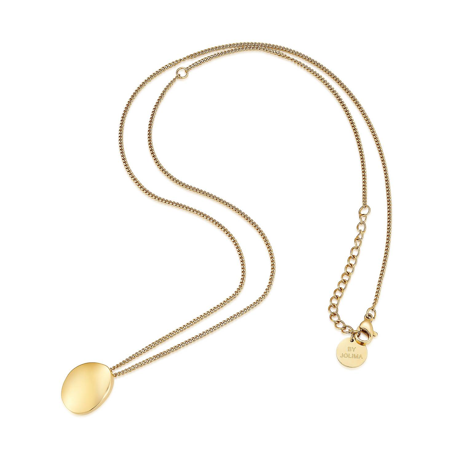 Livia pendent necklace, Gold