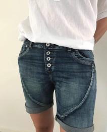 Jeansshorts Mörkblå