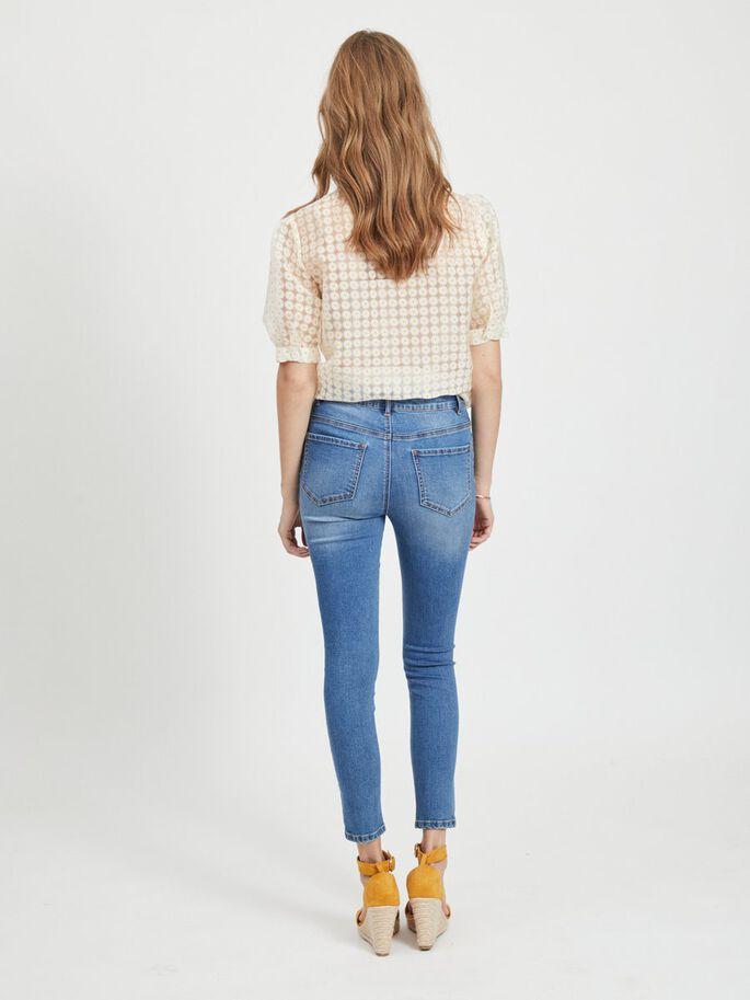 Beskurna slim fit-jeans