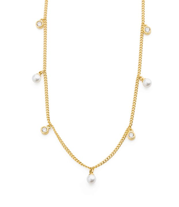 Liz short pearl necklace