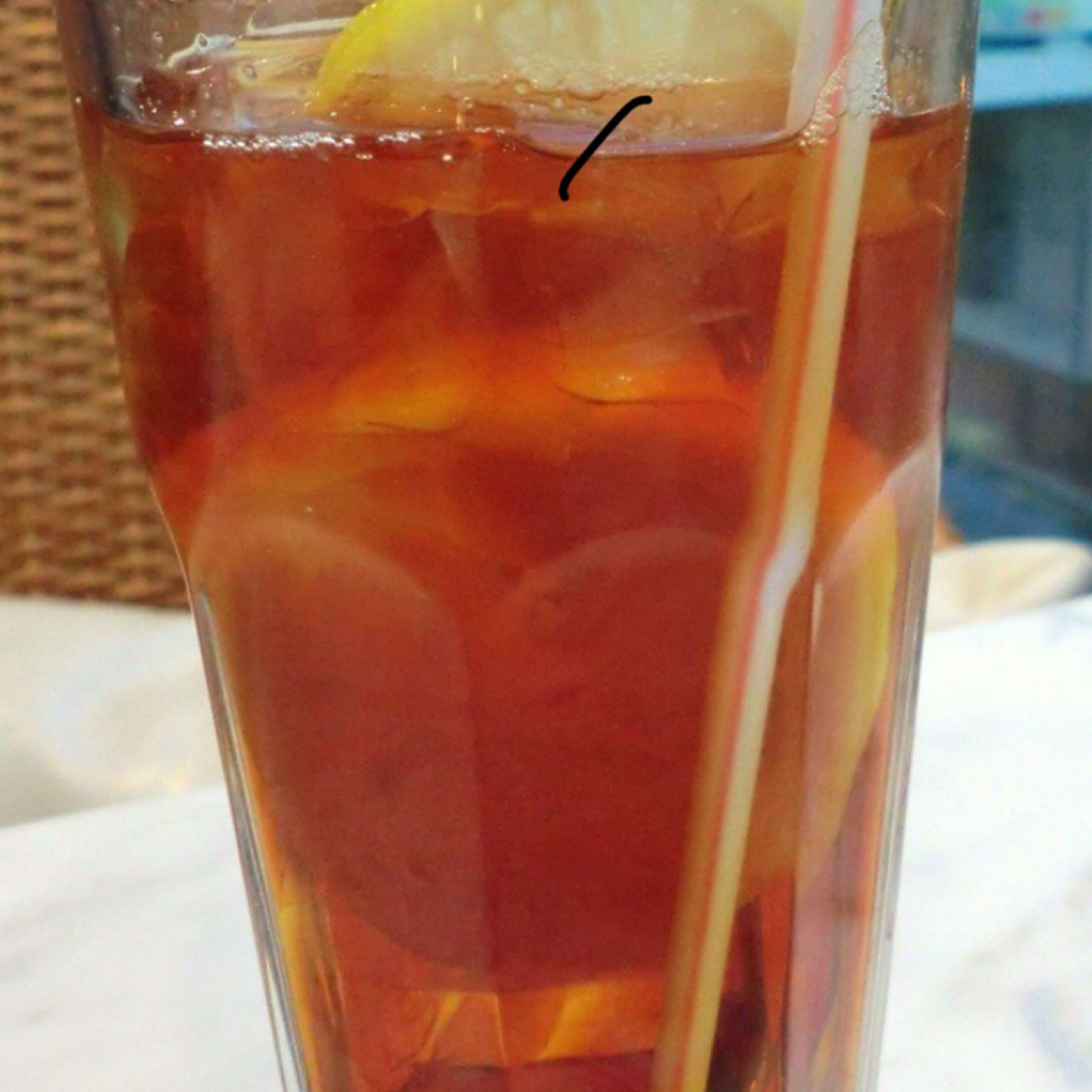 凍檸檬茶 Iced Lemon Tea