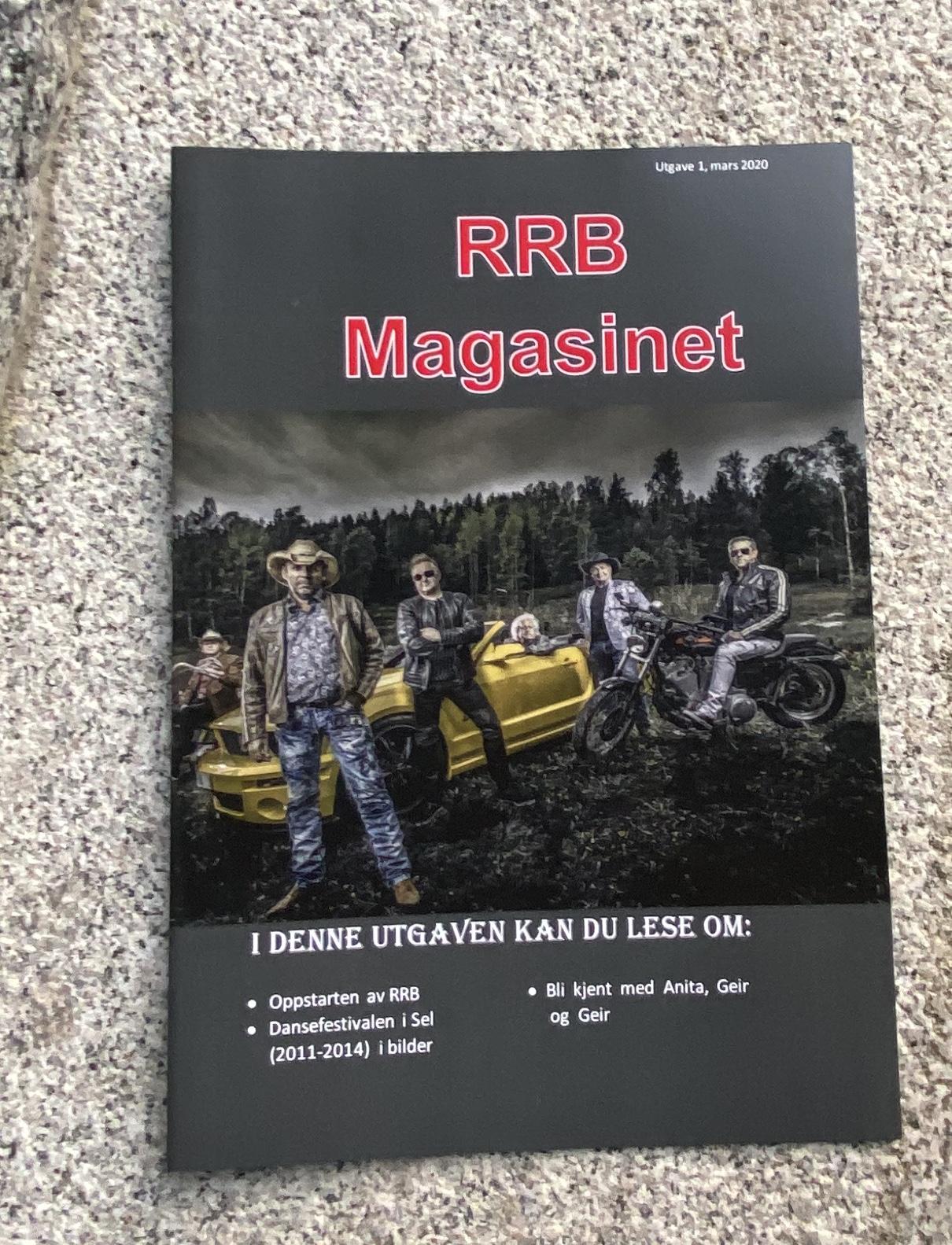 RRB Magasin utgave 1, mars 2020