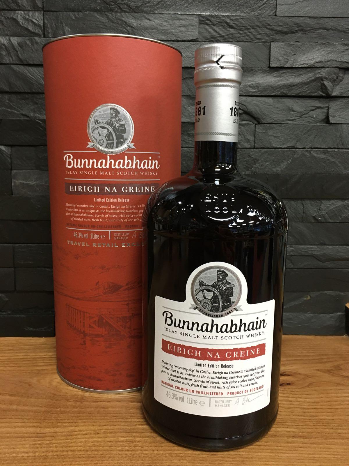 Bunnahabhain Eirigh na Greine 1 litre