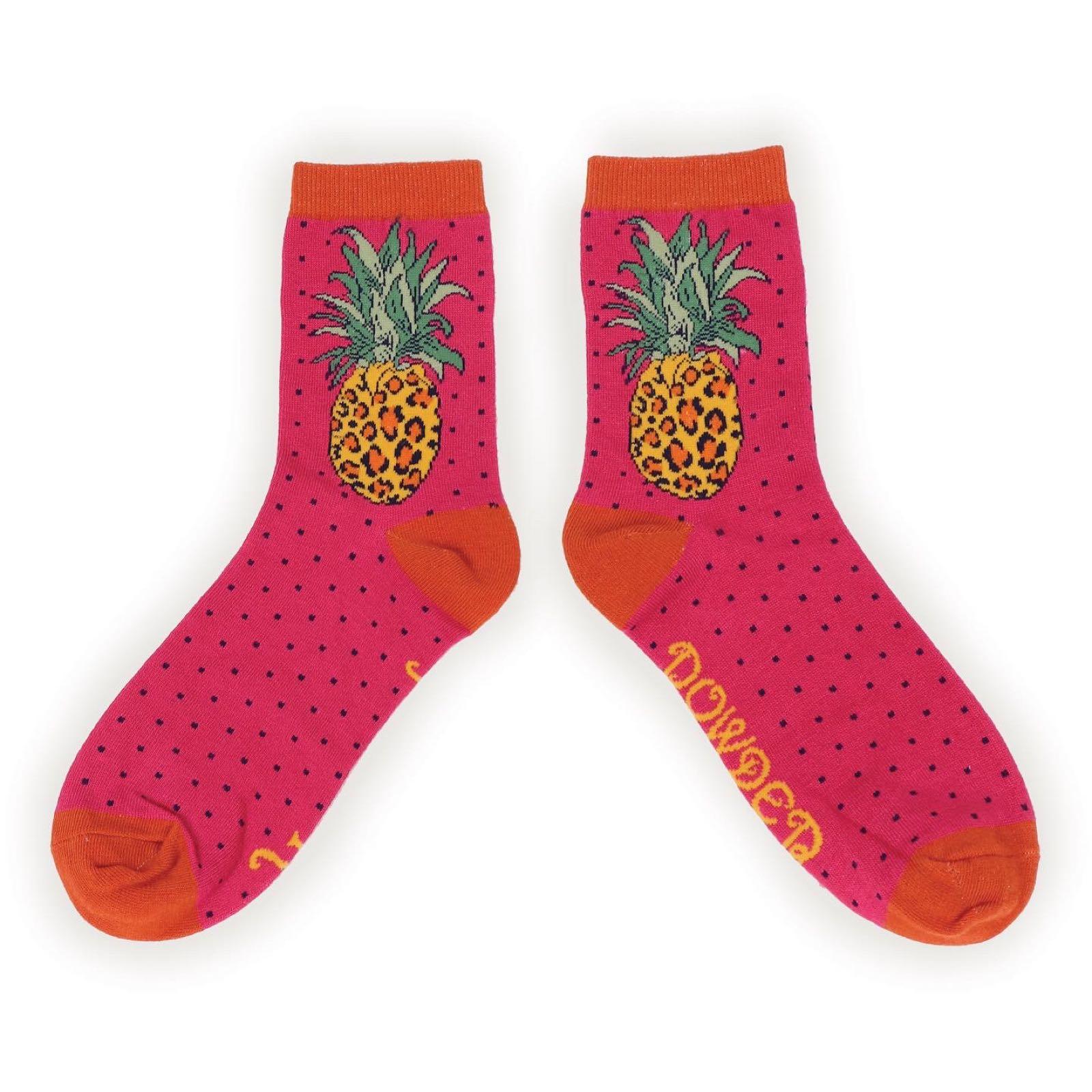 Powder Pineapple socks