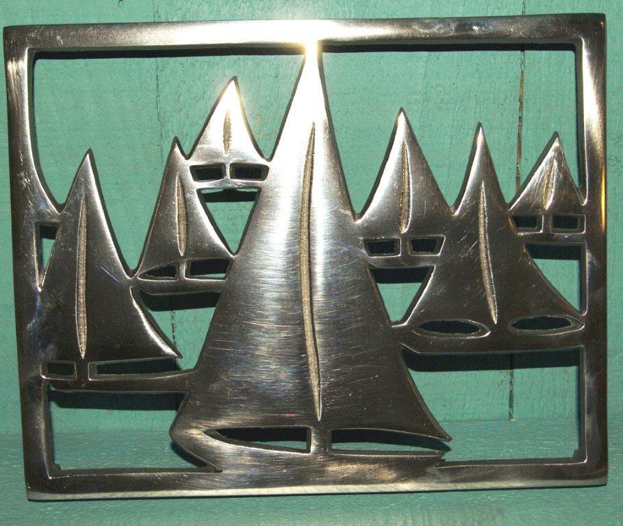 Trivet: Racing Yachts 23cm