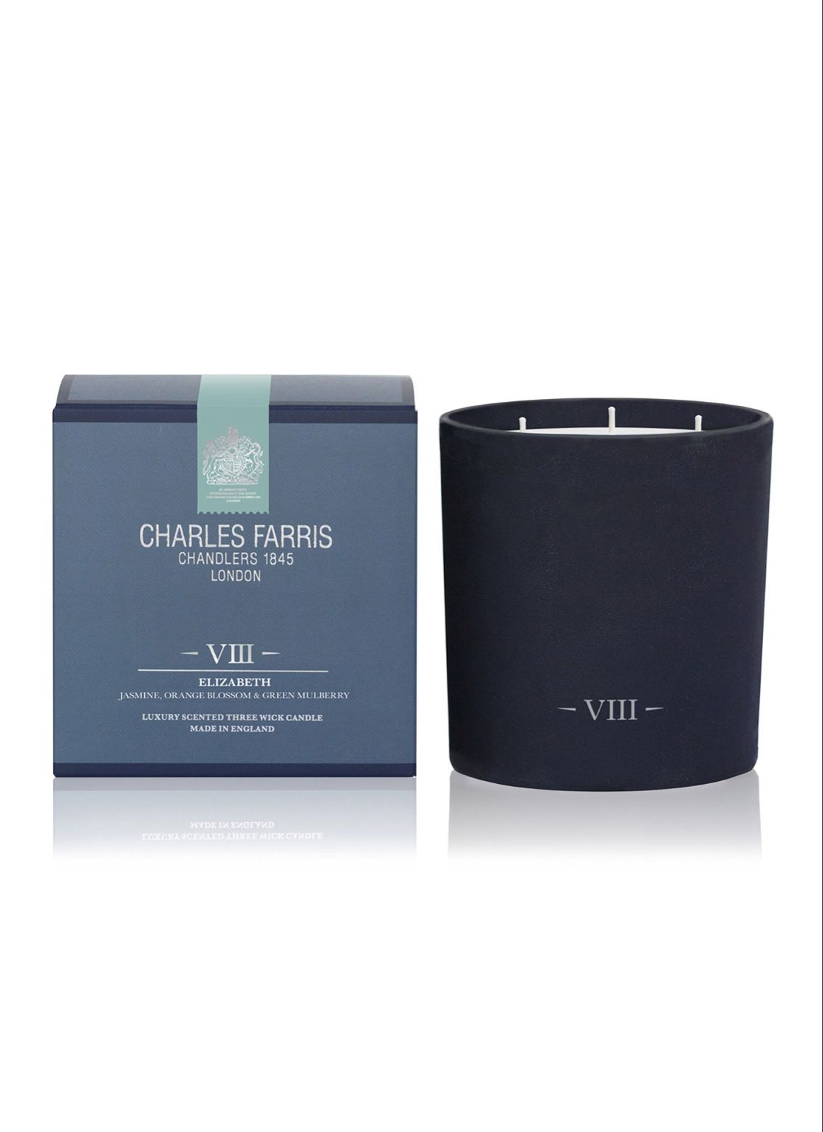 Charles Farris Elizabeth 3 wick candle
