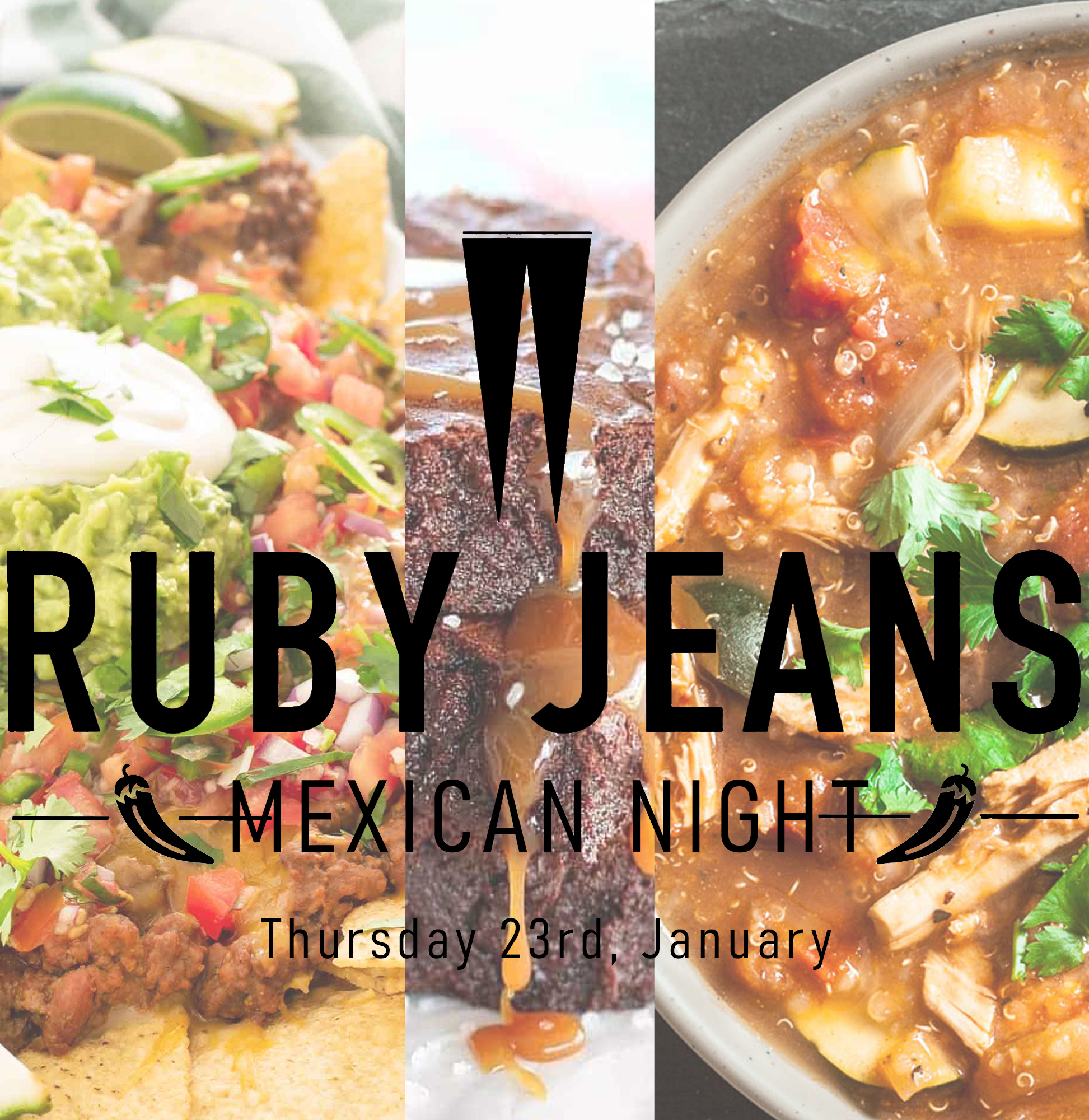 Mexican Night - 23rd Jan 2020 - 7pm