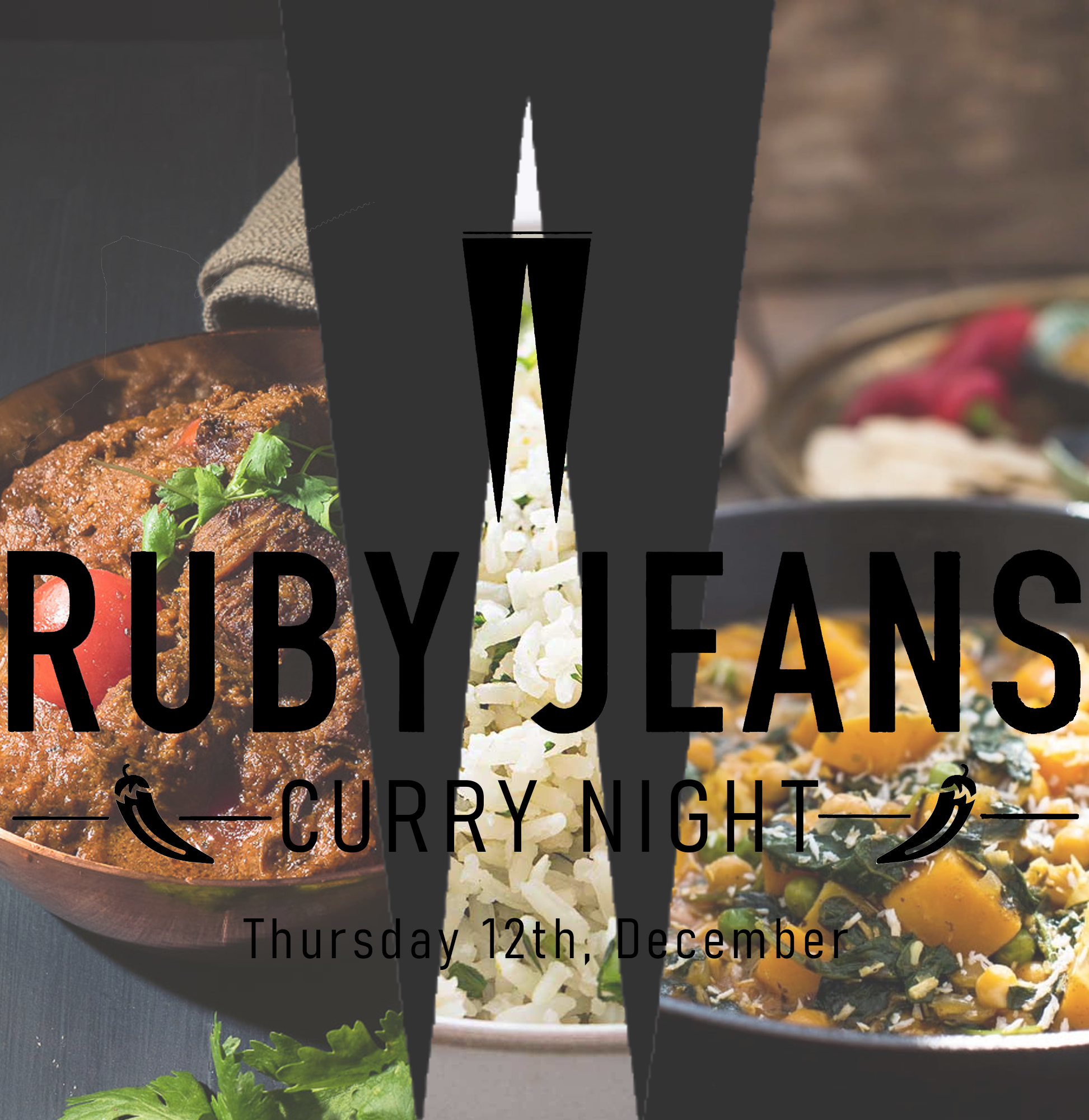 Curry Night - Thursday 12th, December,  7pm